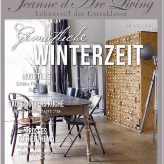 Heute ist das neue JDL Magazin bei uns eingetroffen. Einige wenige Exemplare sind noch verfügbar. Wer eines möchte darf mich gerne per PN anschreiben. Oder natürlich über den Shop bestellen. Der Versand ist als Brief möglich! Hier bei uns ist es eisig kalt. -> siehe auch in der  Story von heute morgen. Allen einen schönen  Abend! #winterzeit #wintertime #jdldeutschland #jdlofficial #jeannedarclivingmagazine #jeannedarcliving #jeannedarclivingdeutschland #shabbychicinspiration #frenchnordic #frenchnordicstyle #frostydays